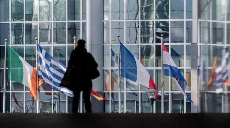 Flaggen einiger EU-Mitgliedsstaaten
