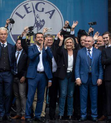 Versammlung der rechten EU-Parteien in Mailand