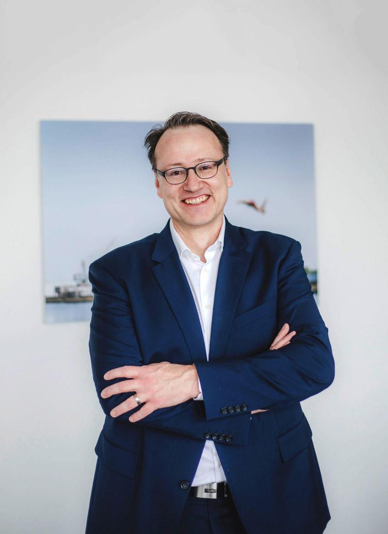 Dr. Markus Küpker leitet das Handlungsfeld Daten und Analyse bei RuhrFutur.