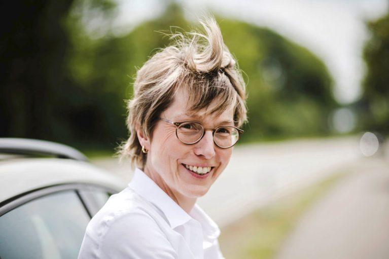 Monika Klein ist Vorsitzende des Partnerschaftsvereins. Seit 30 Jahren engagiert sie sich für die deutsch-französische Freundschaft.