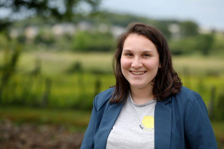 Cornélia Audy fordert mehr Umweltschutz. Die 18-Jährige aus Entrammes hat zum ersten Mal gewählt.
