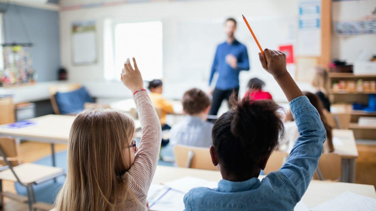Grundschulunterricht (Symbolbild)