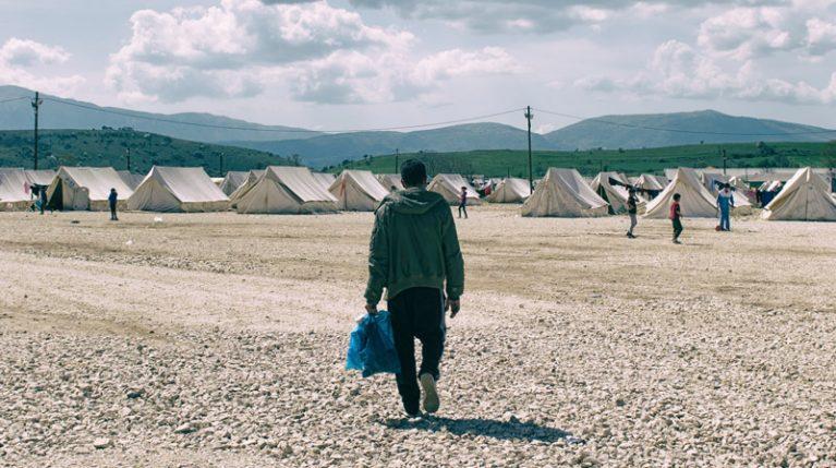 Katsikas Flüchtlingslager in Griechenland