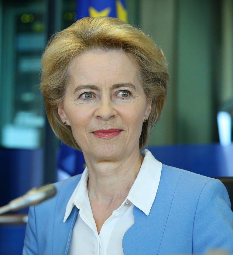 Ursula von der Leyen in Brüssel