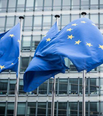 Die Europäische Kommission in Brüssel