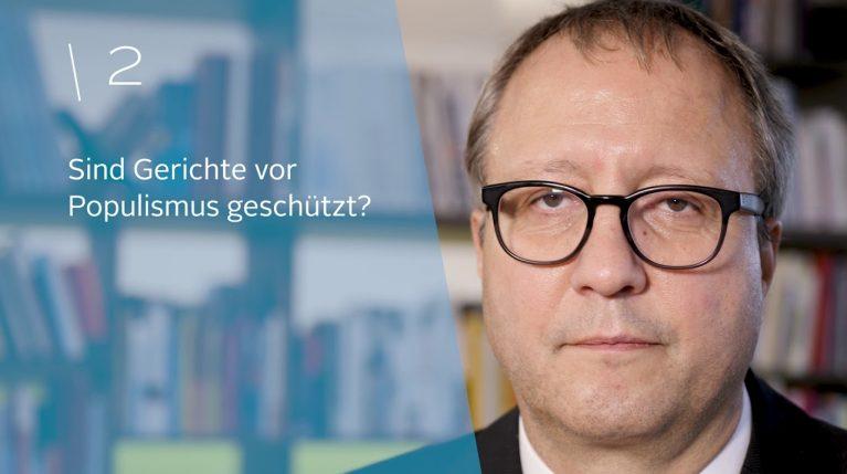Professor Dr. Andreas Voßkuhle, Präsident des Bundesverfassungsgerichts