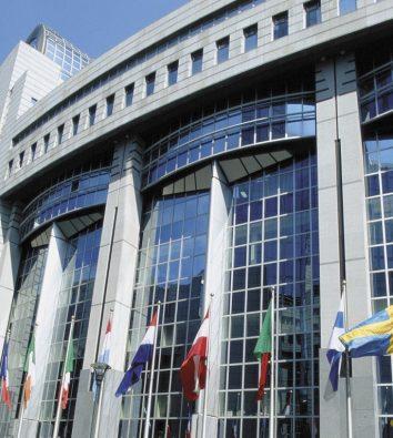 EU Parlament in Brüssel