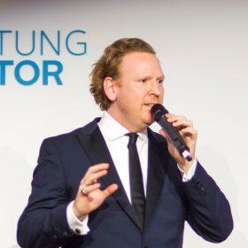 """Daniel Hope beim Mercator Salon zum Thema """"Von der Kraft der Musik"""""""