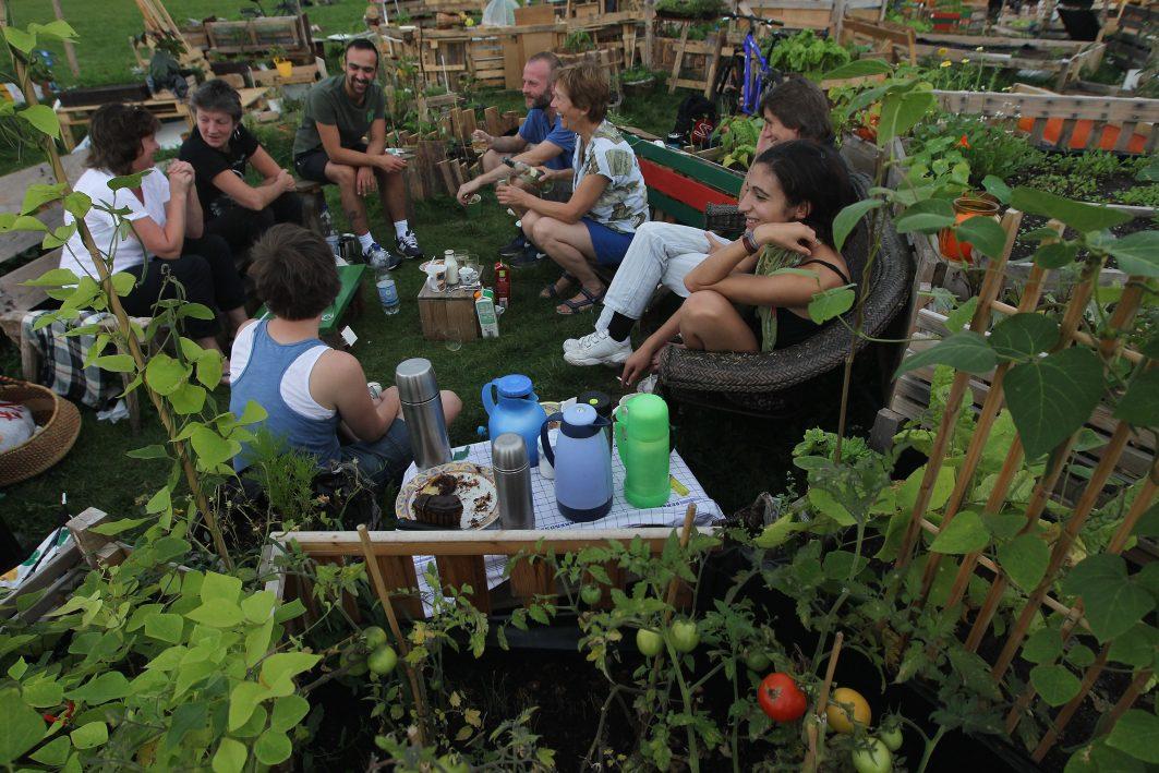 gemeinschaftlicher Gartenbau