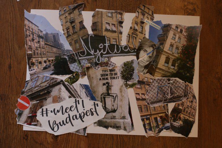 Collage zu Budapest