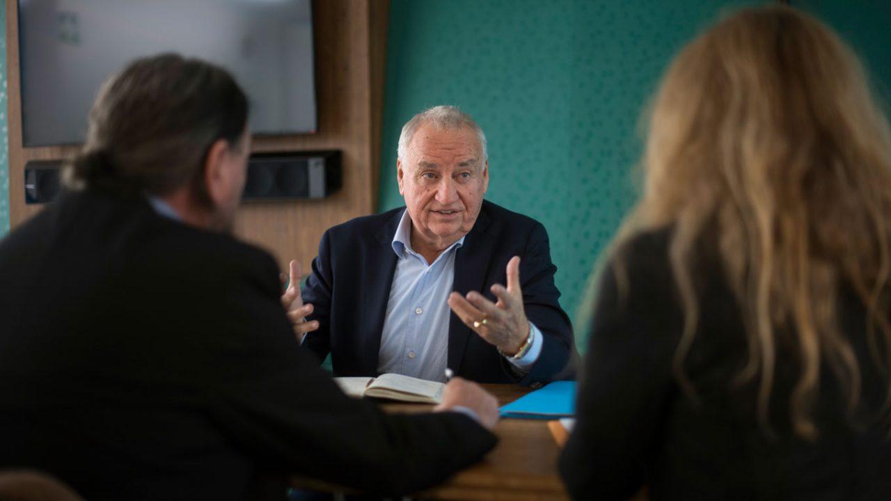 Organisationsberater Kurt Faller im Gespräch