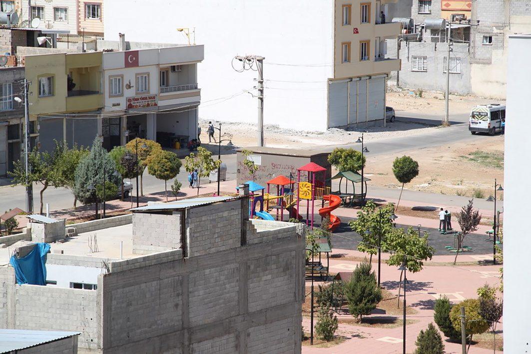Ein Spielplatz in Zeytinburnu