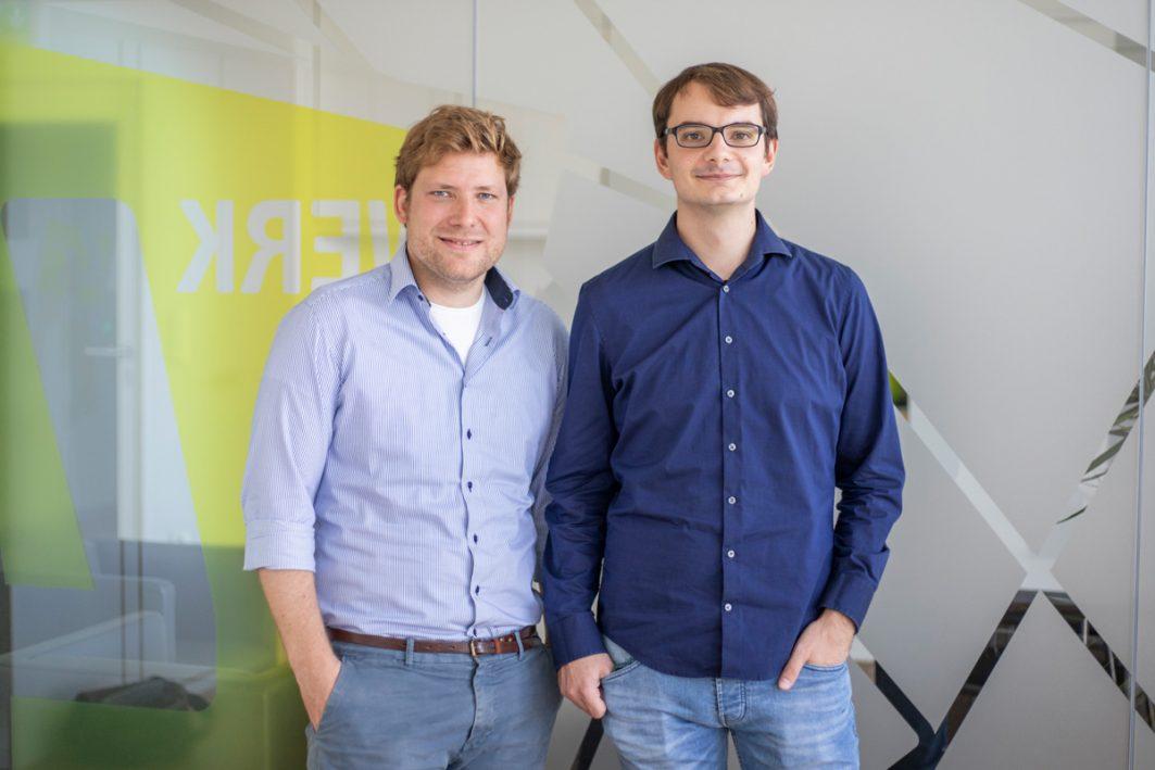 Dr. Mark Andor und Marco Horvat haben einen Autokostenrechner konzipiert.