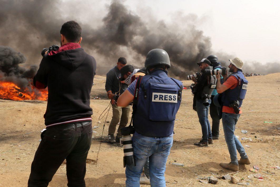 Journalisten im Krisengebiet