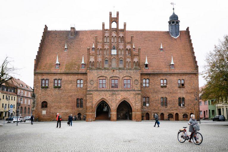 Das historische Rathaus in Jüterborg