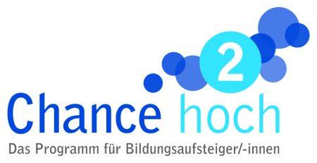 Logo Chance Hoch 2. Das Programm für Bildungsaufsteiger/-innen