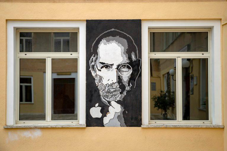 Street Art Steve Jobs
