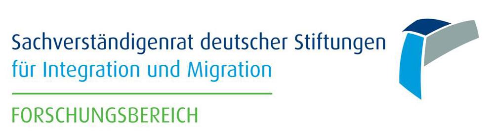 Logo Sachverständigenrat deutscher Stiftungen für Integration und Migration - Forschungsbereich.