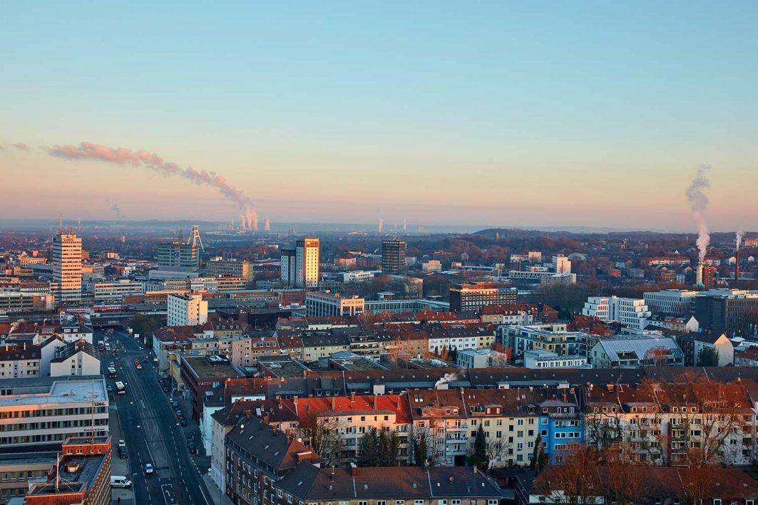 Bochum Stadt Panorama