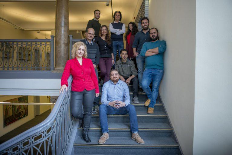 """Das Team von Amal""""-Nachrichtenplattformen Berlin"""
