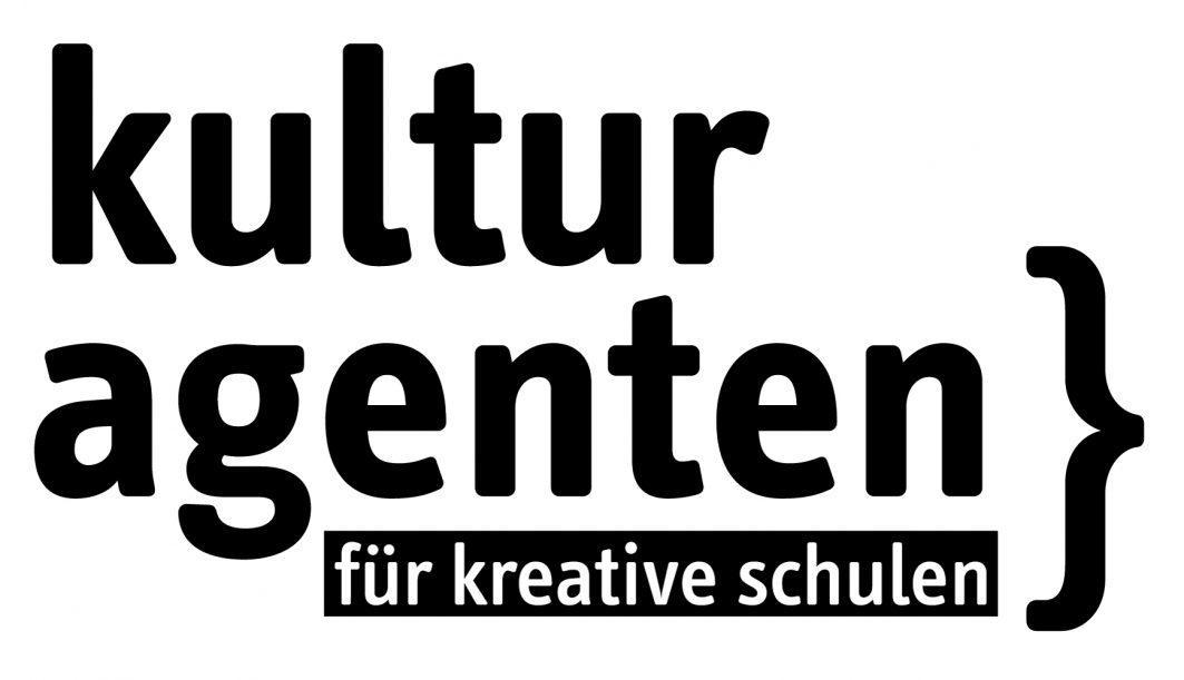 Logo Kulturagenten. Für kreative Schulen