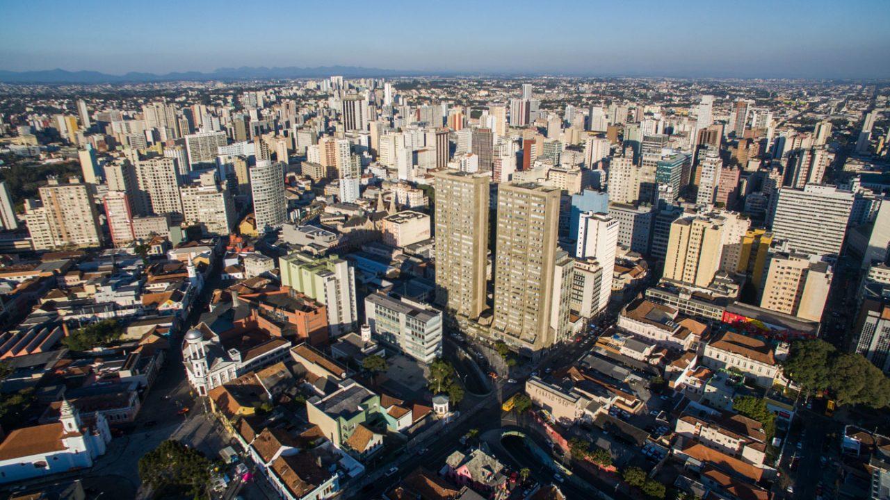 Luftaufnahme von Curitiba