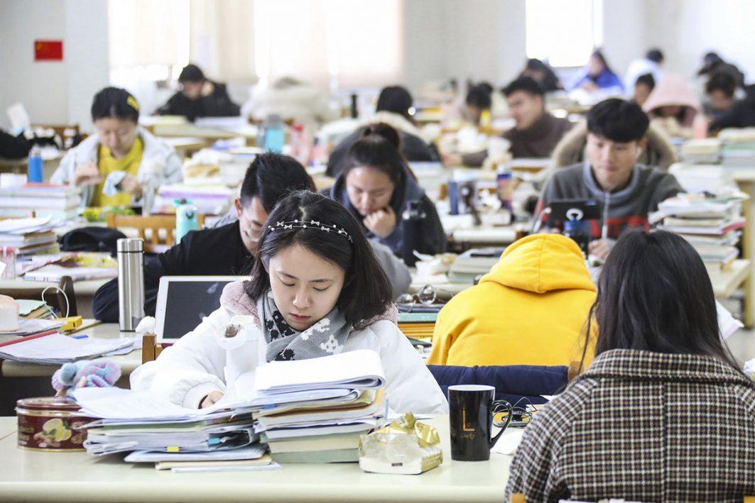 chinesische Schülerinnen und Schüler