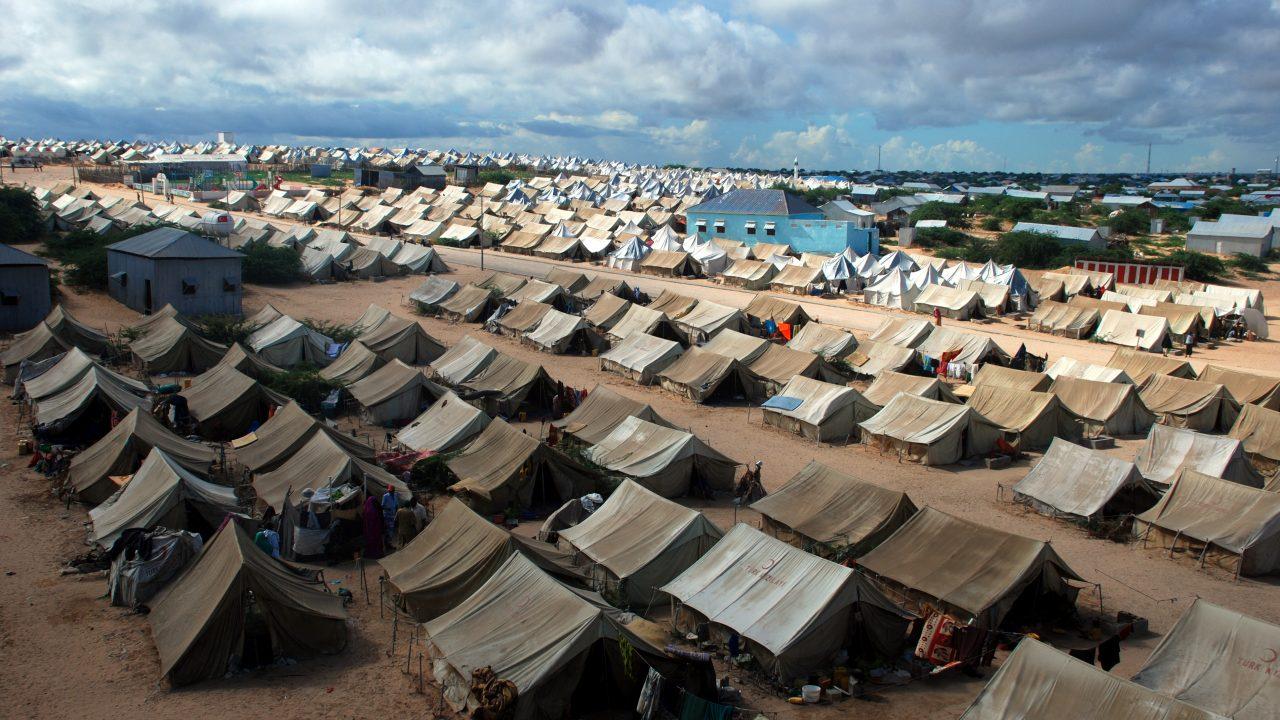 Großes Flüchtlingslager in Somalia
