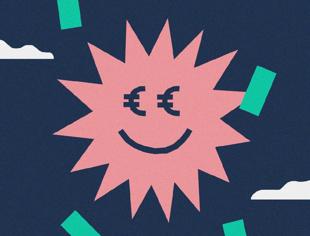 illustrierte Sonne