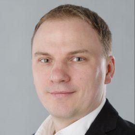 Porträt von Martin Kahane, Professor an der Central European University in Budapest