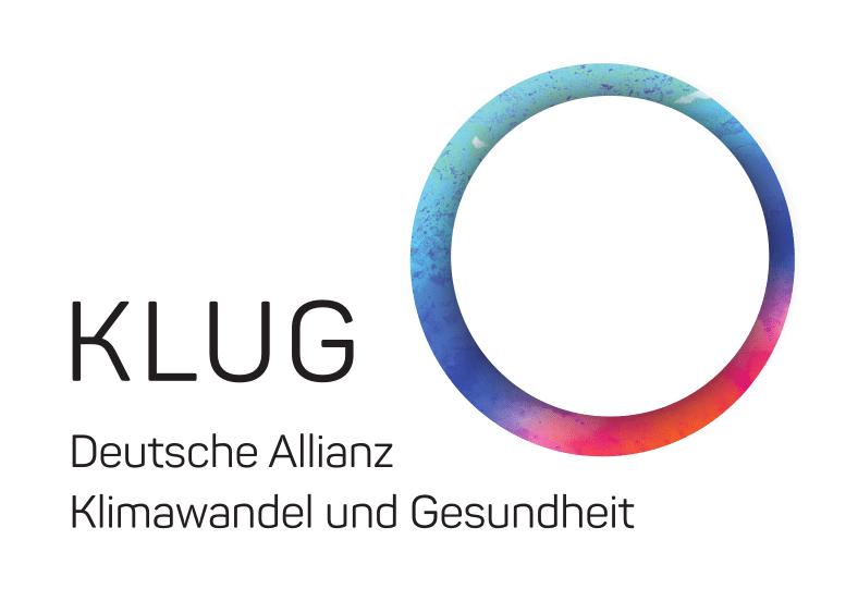 Logo Klug Deutsche Allianz, Klimawandel und Gesundheit