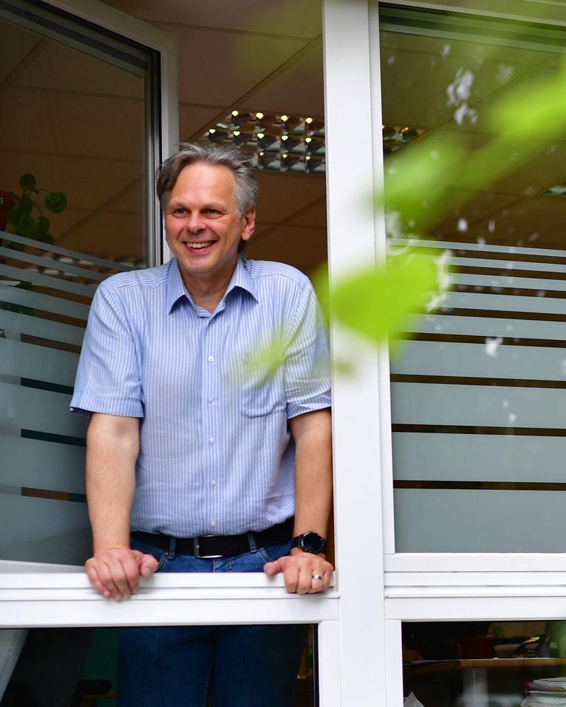 Einrichtungsleiter Gerald Fischer