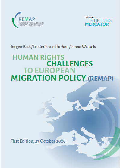 Human Rights Challenges To European Migration Policy (Remap) First Edition, 27 October 2020