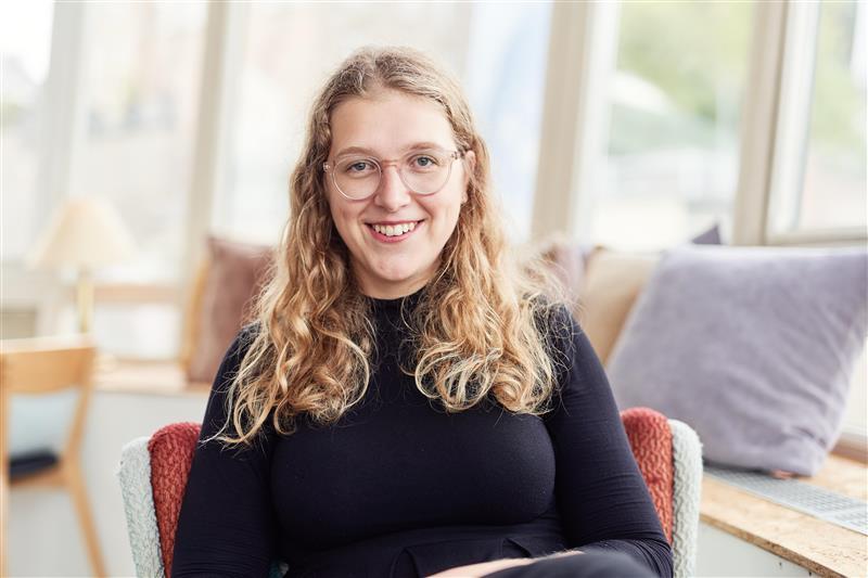 Die EU-Kompakt-Kurs-Trainerin Luisa Hieckel in der Nahaufnahme